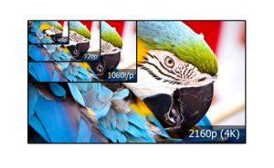 4k, 1080i/p, 720p und 480p im Vergleich