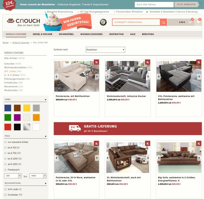 couch auf raten - diese shops bieten ratenzahlung - ratenkauf